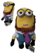 Tim Beard Minion 29cm Gru Toy Doll Plush Despicable Me 2 Yellow Henchmen Super Soft Monster