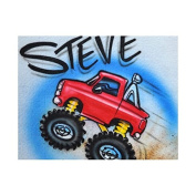 Monster truck professional airbrush stencil