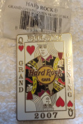 Hard Rock Cafe Biloxi,Mississippi 2007 Grand Opening Queen of Hearts Le 1000 Collectible