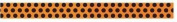 2012 Halloween Ribbon Spool - Orange/black Dots