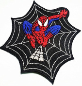 """SPIDERMAN""""-Iron On Applique Patch/TV, Movie,Cartoons, Spidy Power Patch"""