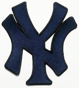 New York Yankees Patches (blue Ny Patches) Embroidered Iron on Patch