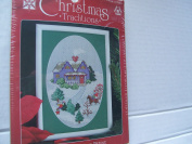 Christmas Traditions Winter Village #1867 Cross Stitch Kit