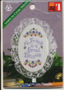 Blessing - Lace Ornament Counted Cross Stitch Kit #2009