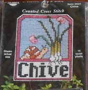 Chives - Plant Poke Cross Stitch Plastic Canvas Kit 2637
