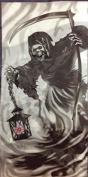 Light Up Grim Reaper Door Cover 80cm x 150cm