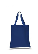 Canvas Coloured Tote, Royal Blue