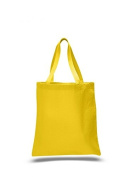 Canvas Coloured Tote, Yellow