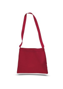 Canvas Small Convention Tote, Red
