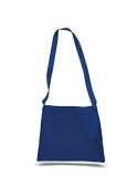 Canvas Small Convention Tote, Royal Blue