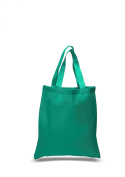 Cotton Canvas Tote Bag, Kelly Green