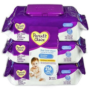 Parent's Choice Baby Wipes Value Pack Sensitive 216 Count. Pampers or Huggies)
