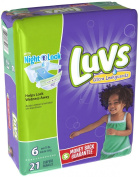 Luvs Ulta Leakguards Nappies Night Lock 6 - 21 CT