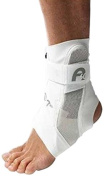 Aircast A60 Ankle Support Brace, Right Foot, White, Small (Shoe Size