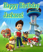 """Paw Patrol """"Another Good Day"""" 1/4 Sheet Edible Photo Birthday Cake Topper. ~ Personalised!"""