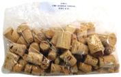 GSC International, Set of 100 Assorted Size (0-11) Cork Stoppers,