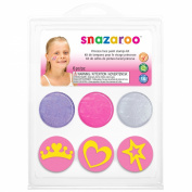 Snazaroo Princess Face Paint Stamp Kit