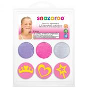 Snazaroo Princess Face Paint Stamp Kit