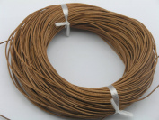 25 Yards 1.5mm Natural Colour Soft Round Real Jewellery Leather Cord