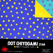 Origami Paper- Dot Chiyogami Star Pattern
