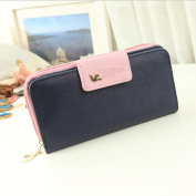 BCL13 New Stylish Women & Girls Purses Sweetie Wallet Case Multi Purpose for Samsung Galaxy Note2 S3 S4 S5 iPhone 4/4s 5/5s 6(12cm )