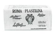 Roma No.2 - Sculpture House Roma Plastalina Modelling Clay - Grey Green, 0.9kg, Medium