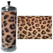 Salon Skins Decorative Barbicide Jar Wrap Cheetah