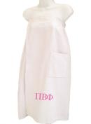 Pi Beta Phi White Towel Wrap