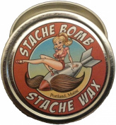 Pumpkin Spice Stache Bomb Stache Wax- Moustache Wax From Maine