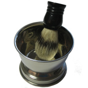 Garos Goods Shaving Bowl and Brush