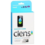 Bausch + Lomb Clens Cleaning System for Apple Products, 20ct