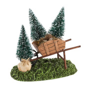 Department 56 Decorative Accessories for Village Collections, My Garden Wheelbarrow General Accessory, 4.5cm