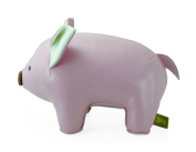 Zuny Classic Series Piggy Pink Animal Bookend