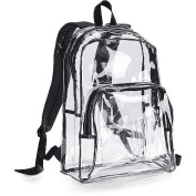 Eastsport 44cm Clear with Black Trim Backpack
