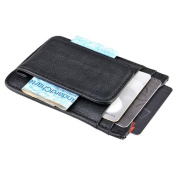 Zodaca Mens Genuine Leather Wallet Money Clip Credit Card ID Slot Holder Front Pocket Thin
