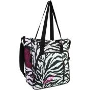 Zebra Print Tote Style Backpack