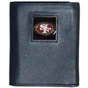 Siskiyou FTR075BX San Francisco 49Ers NFL Trifold Wallet in a Window Box