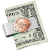 American Coin Treasures Italian Amphitheatre Five Cent Euro Coin Money Clip