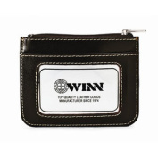 "Winn International High Polished Cowhide Aniline ""Kabul"" Leather ID Holder II"