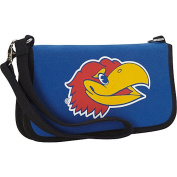 Ashley M Kansas University Canvas Wallet with Strap
