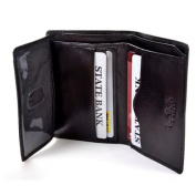 Ultimo Leather Front Pocket Wallet with I.D. Window