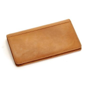 Prima Leather Chequebook Wallet with I.D. Window