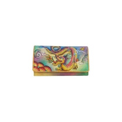 Anuschka 1095-IDG Imperial Dragon Accordion Flap Wallet
