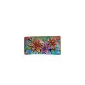 Anuschka 1088-LLY Luscious Lilies Ladies Clutch Wallet