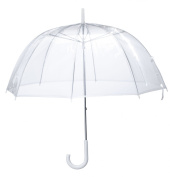 Miles Kimball Clear Clear Dome Umbrella