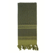 Rothco Shemagh,Olive and Black
