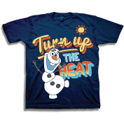 Disney Frozen Olaf the Snowman Turn up Heat Toddler Boy Graphic Tee