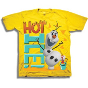 Disney Frozen Olaf the Snowman Hot Ice Toddler Boy Graphic Tee