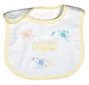 Raindrops 6010Y Raindrops -Oops- Embroidered Bib, Yellow