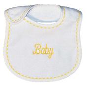 Raindrops 6200Y Raindrops -Baby- Embroidered Bib, Yellow